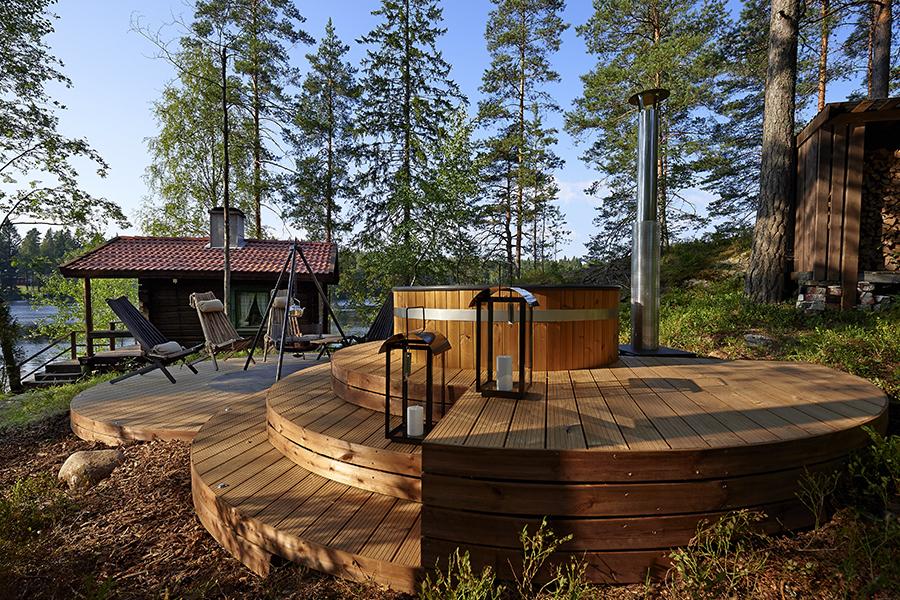 Terasa iš termo medienos